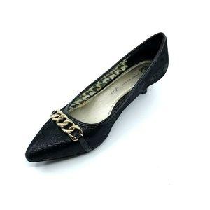Anne KIein iFlex Mikaela Kitten Heel Pumps Size 10